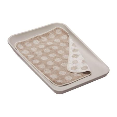 Leander topper voor changing mat Cappuccino2