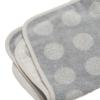 Leander topper voor changing mat Cool Grey1