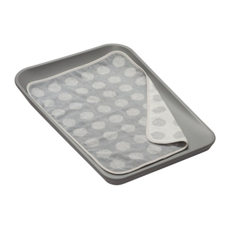 Leander topper voor changing mat Cool Grey