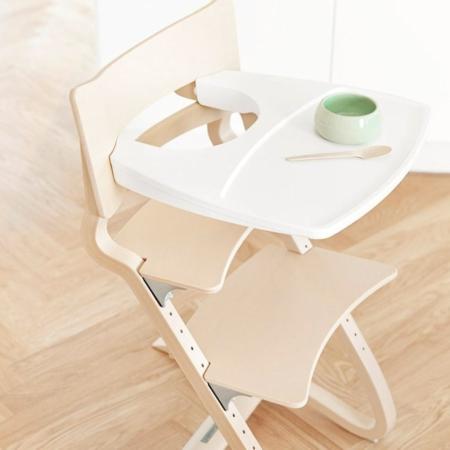 Leander tray voor meegroeistoel white