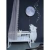 Hartendief muursticker sterren en maan zilver sfeer