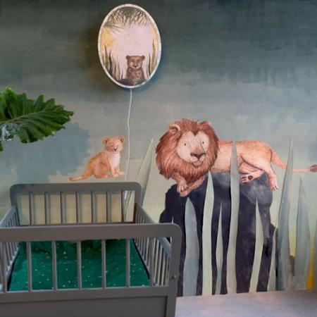 Hartendief muurstickers leeuw sfeer