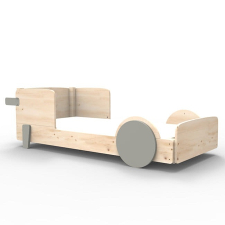 Mathy by Bols discovery bed enkel cement grijs