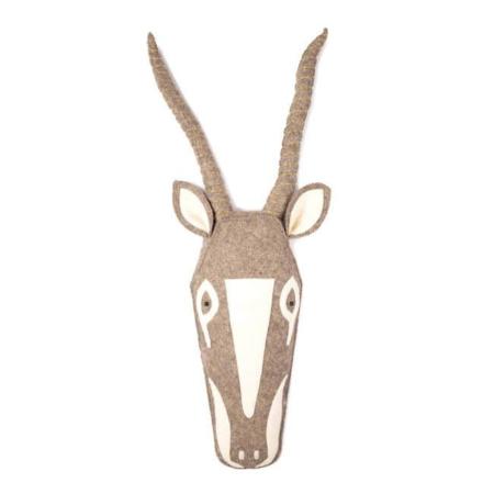 Kidsdepot vilten masker Kaio antelope