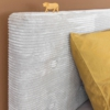 Coming Kids gestoffeerd bed Lima detail