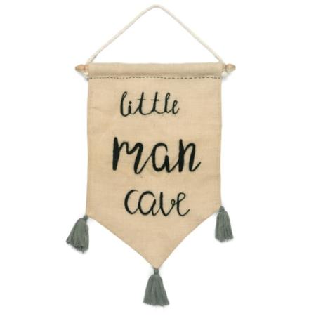 Kidsdepot wandhanger Sammie Little Man Cave