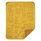 Klippan katoenen wiegdeken Buddies yellow