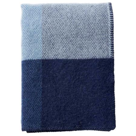 Klippan plaid Block blue