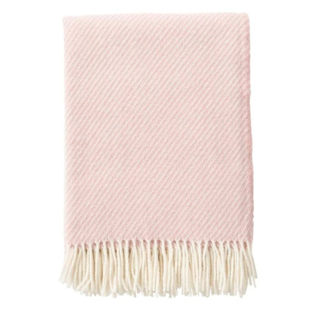 Klippan wollen plaid Classic Wool Pink