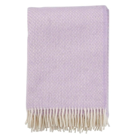 Klippan wollen plaid Preppy Lilac