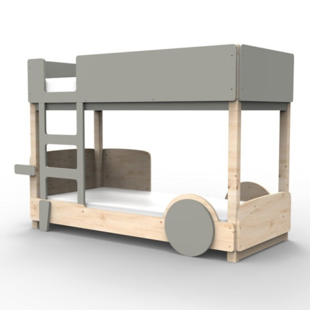 Mathy by Bols Discovery stapelbed cement grijs