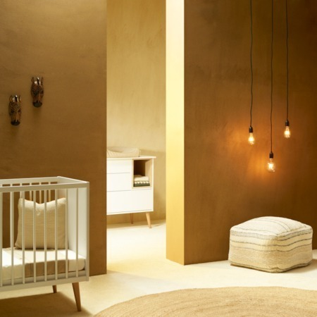 Quax Cocoon Ice White 2 delige babykamer sfeer