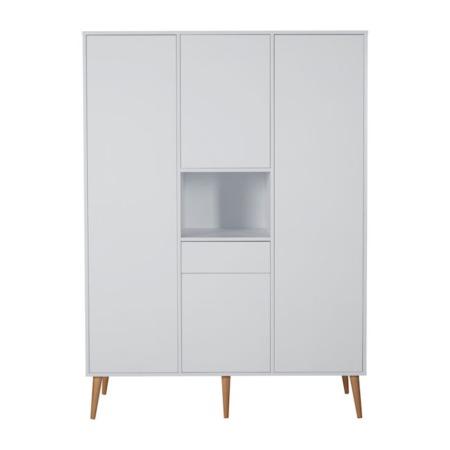 Quax Cocoon Ice White 3 deurskast
