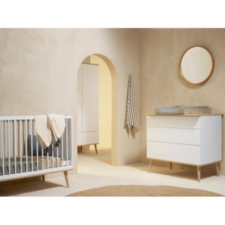 Quax Flow 3-delige babykamer White sfeer