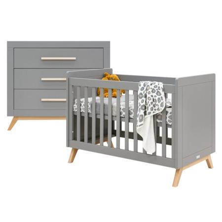Bopita 2 delige babykamer Fenna grijs