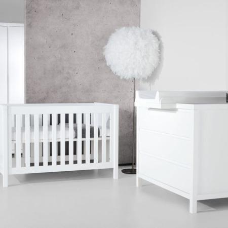 Quax 2-delige babykamer Stripes White sfeer