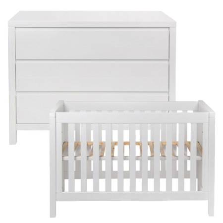 Quax Stripes 2-delige babykamer white