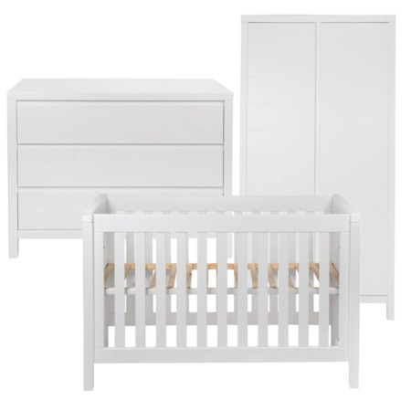 Quax Stripes 3-delige babykamer white