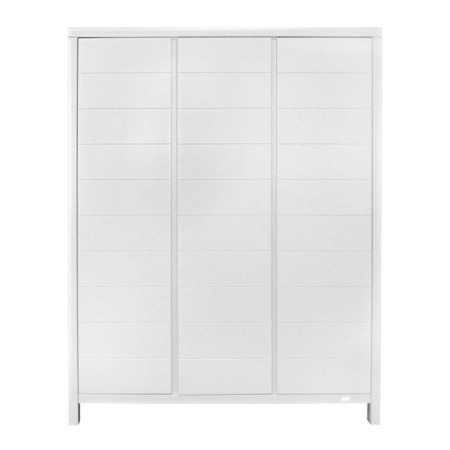 Quax Stripes 3-deurskast white