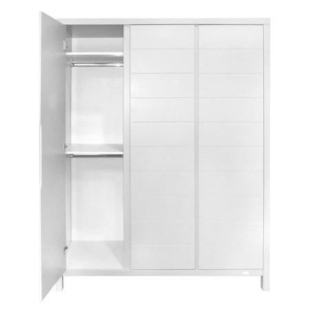 Quax Stripes 3-deurskast white2