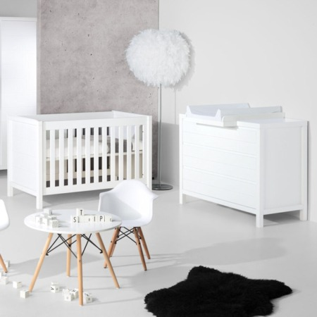 Quax Stripes babykamer White