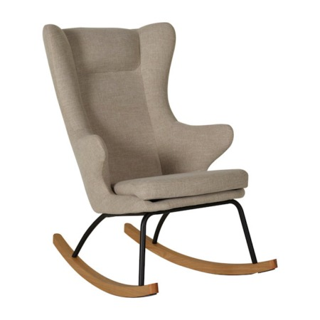 Quax schommelstoel De Luxe Clay