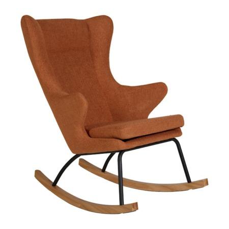 Quax schommelstoel De Luxe Terra
