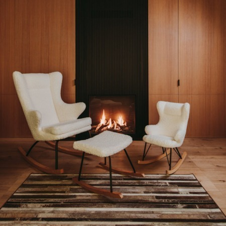 Quax schommelstoelen Limited edition sfeer