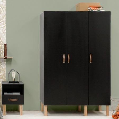 Bopita Floris 3-deurskast sfeer