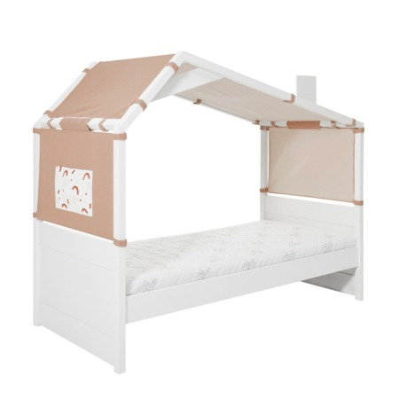 Lifetime Coolkids bed met hut Rainbow