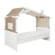 Lifetime Coolkids bed met hut Surf