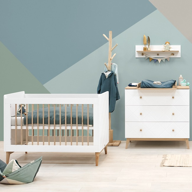 Bopita 2-delige babykamer Paris 60x120 sfeer