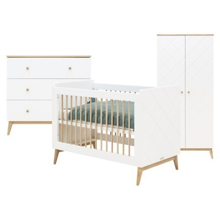 Bopita 3-delige babykamer Paris 60x120