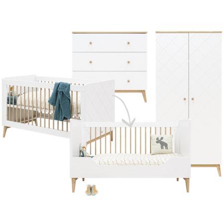 Bopita 3-delige babykamer Paris 70x140