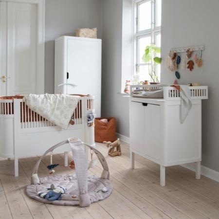 Sebra 3-delige babykamer Classic White