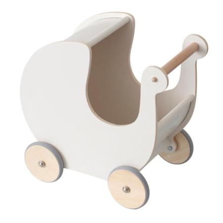 Sebra poppenwagen Classic White