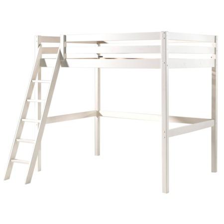 Pino Mezzanine hoogslaper 140x200 wit
