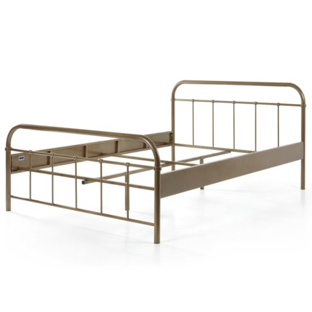 Vipack Boston bed 140x200 brons