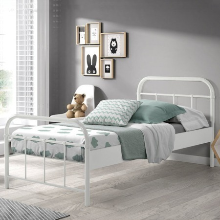 Vipack Boston bed 90x200 wit sfeer