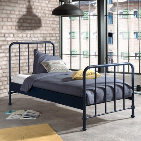 Vipack Bronxx bed mat blue denim sfeer