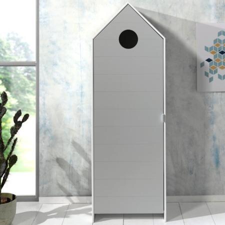 Vipack Casami kast met deur cool grey sfeer
