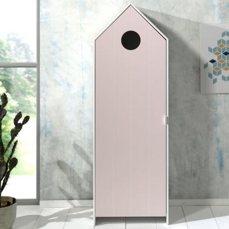 Vipack Casami kast met deur pastel pink sfeer
