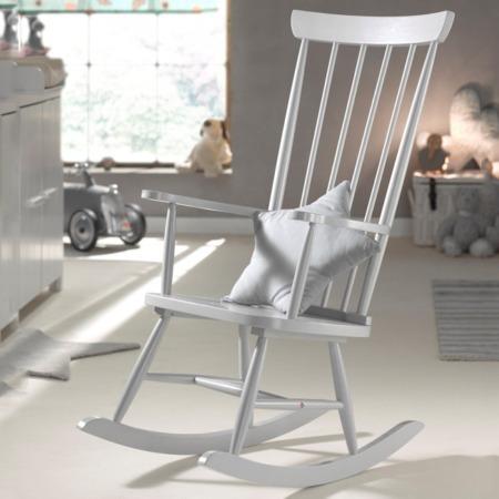 Vipack schommelstoel Rocky grijs