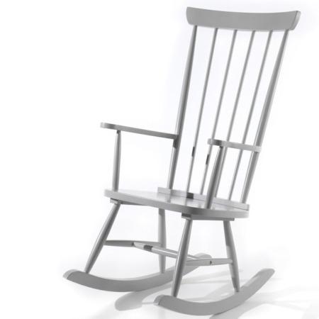 Vipack schommelstoel Rocky grijs1