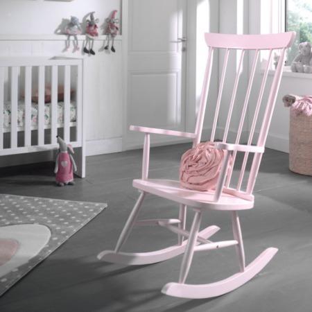 Vipack schommelstoel Rocky roze