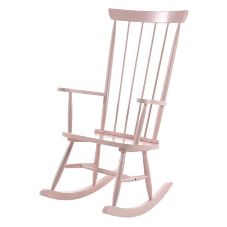 Vipack schommelstoel Rocky roze1