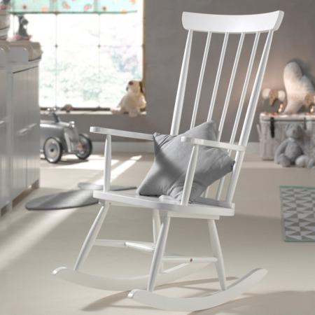 Vipack schommelstoel Rocky wit