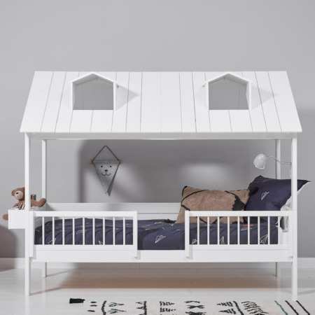 Lifetime 2-in-1 Beachhouse hutbed sfeer1