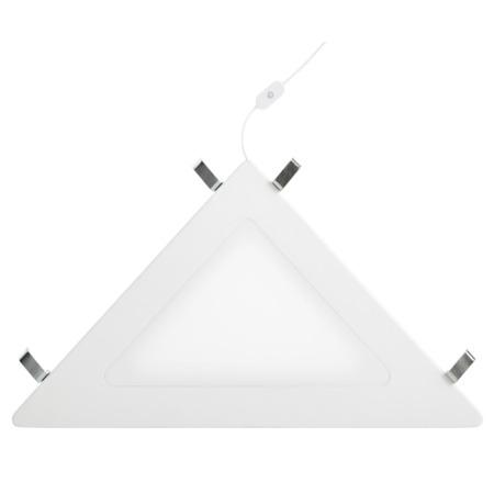Lifetime hoekplank met LED licht wit uit