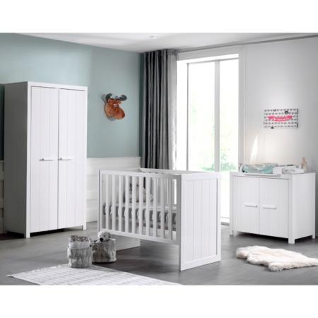 Vipack Erik 3-delige babykamer met 2-deurskast sfeer